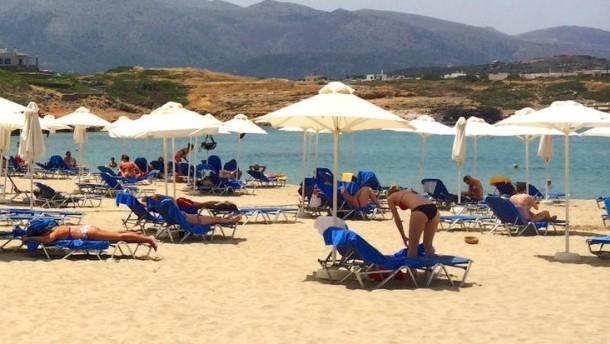 Griechenland profitiert von Urlauber-Sorgen
