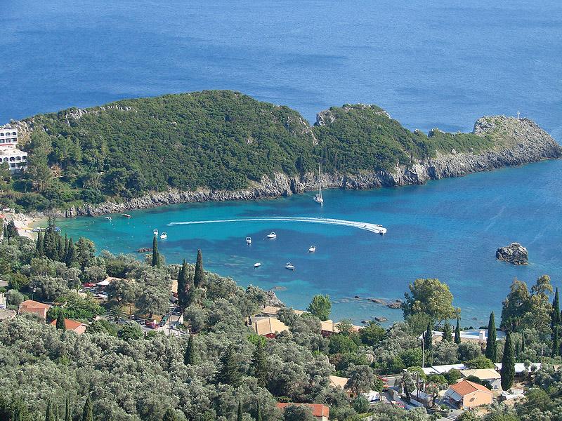 Корфу - греческий остров с венецианским акцентом.