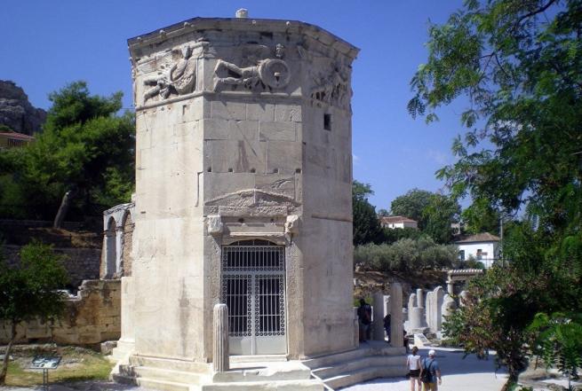 Башня ветров в Афинах открывает свои двери