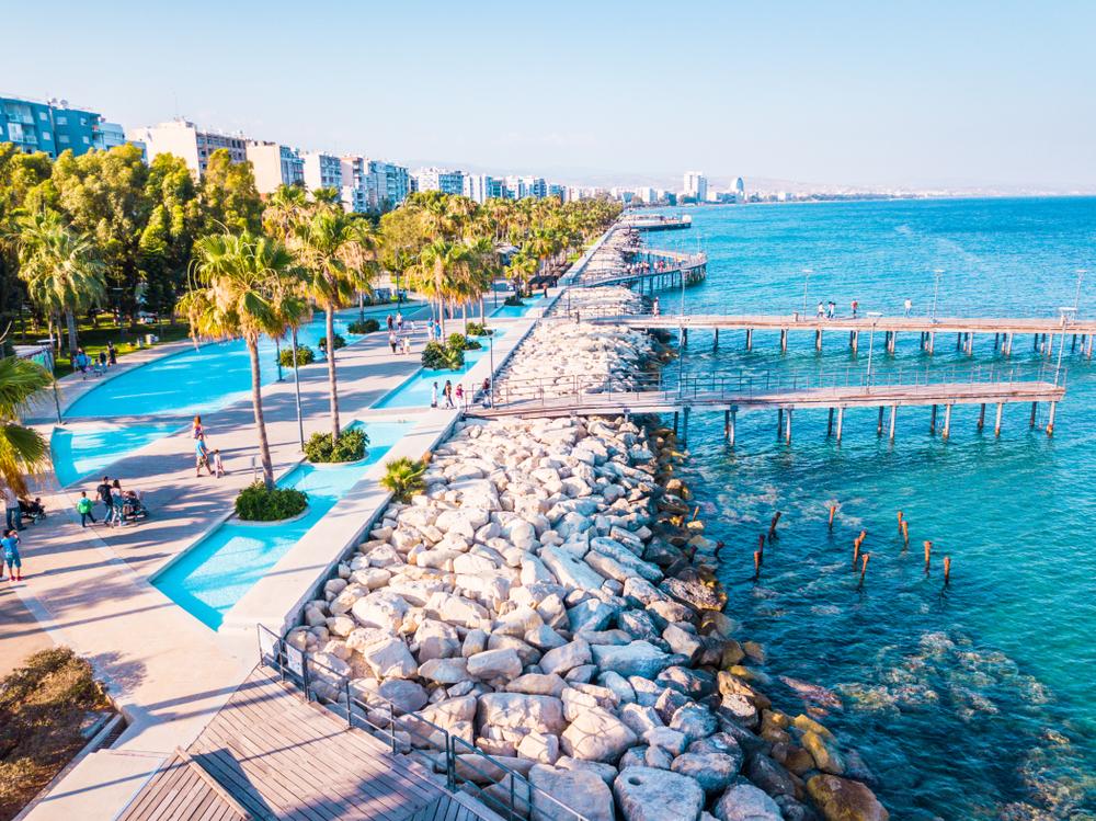 Cyprus property market began to grow