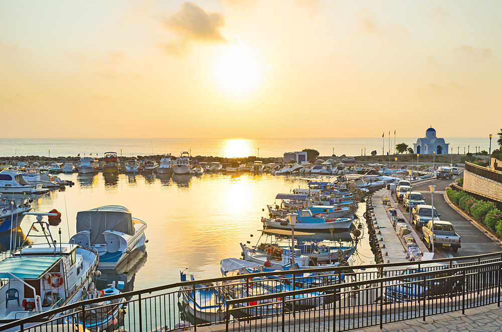 The new harbor Paralimni Marina has been officially presented in Cyprus