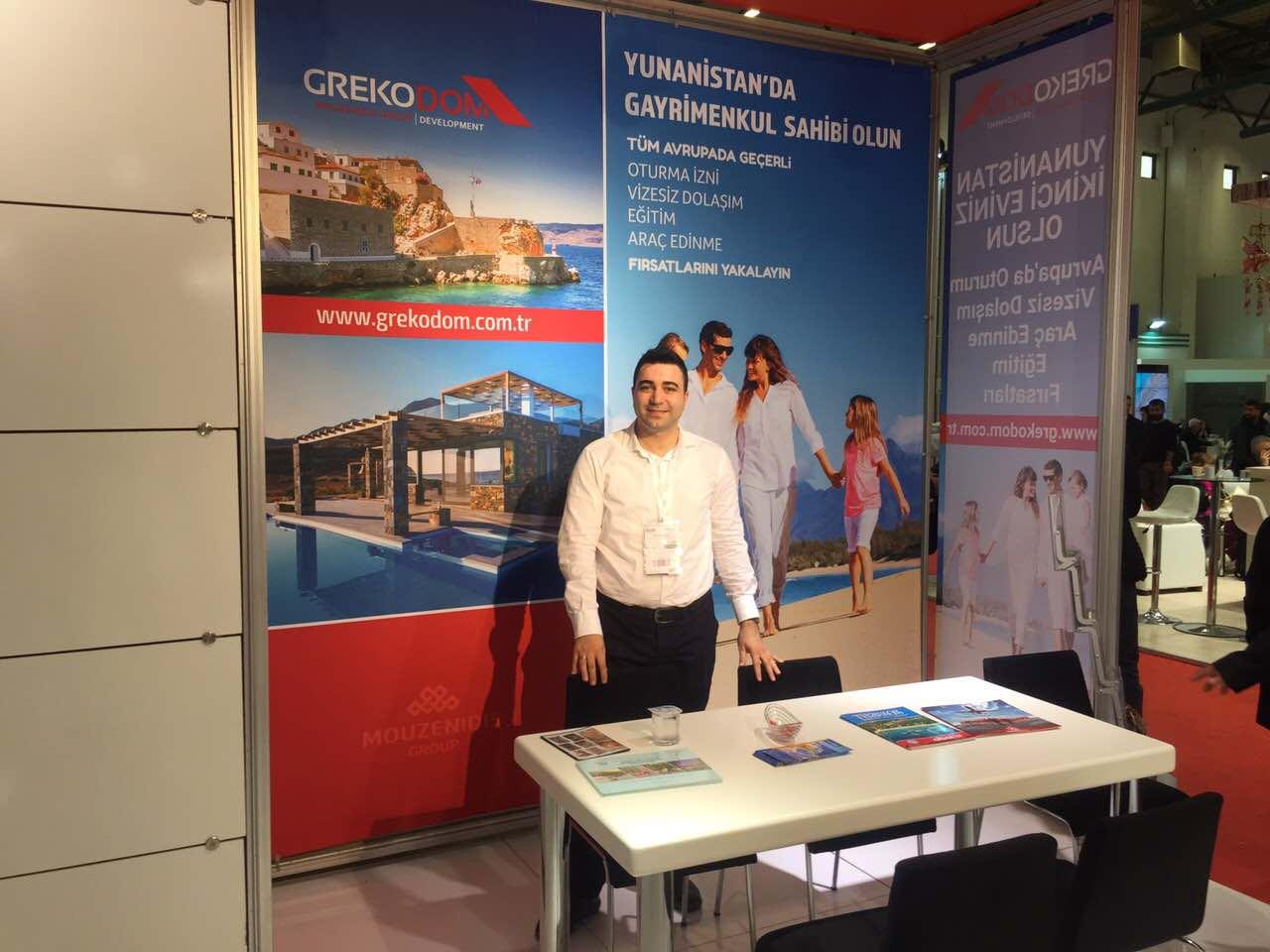 Компанія Grekodom Development - учасник виставки EMITT 2017, Стамбул, Туреччина