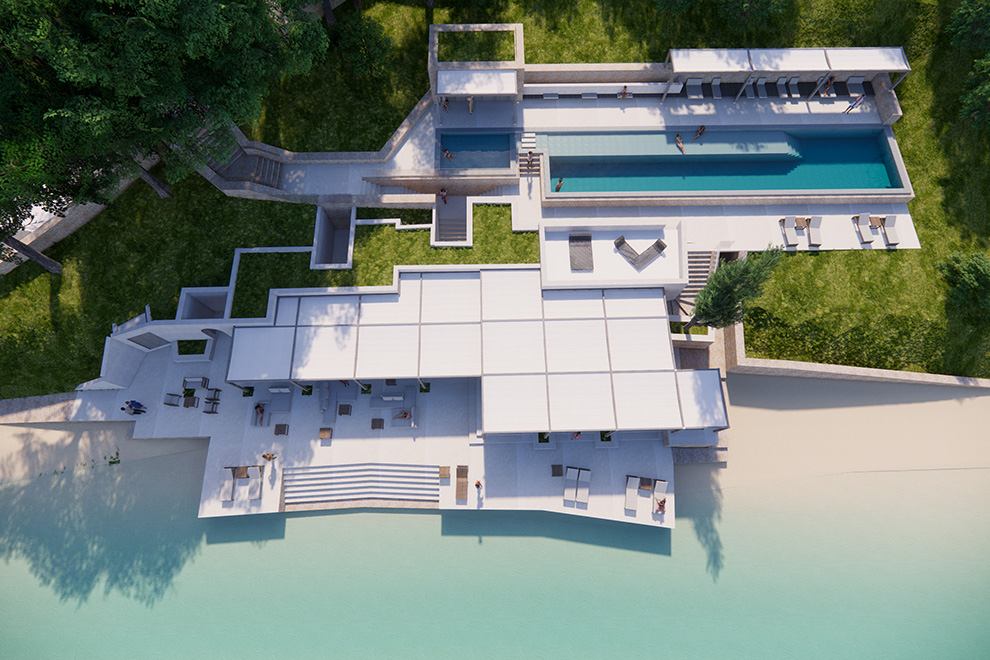 First photos of the billionaire's VIP resort in Greek island Scorpios published