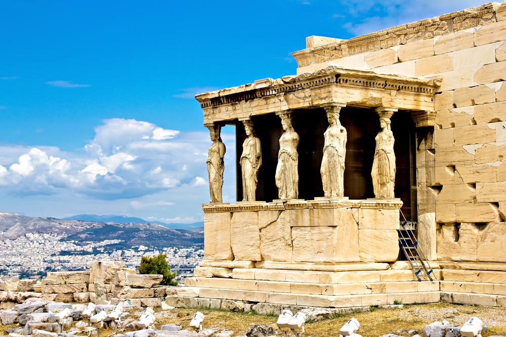 Гігантська Василопіта в Афінах