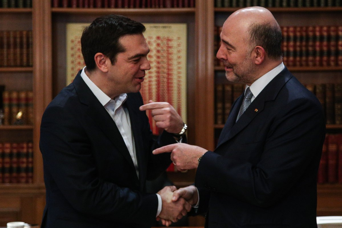 EU's Moscovici 'Optimistic' about Greece's Future