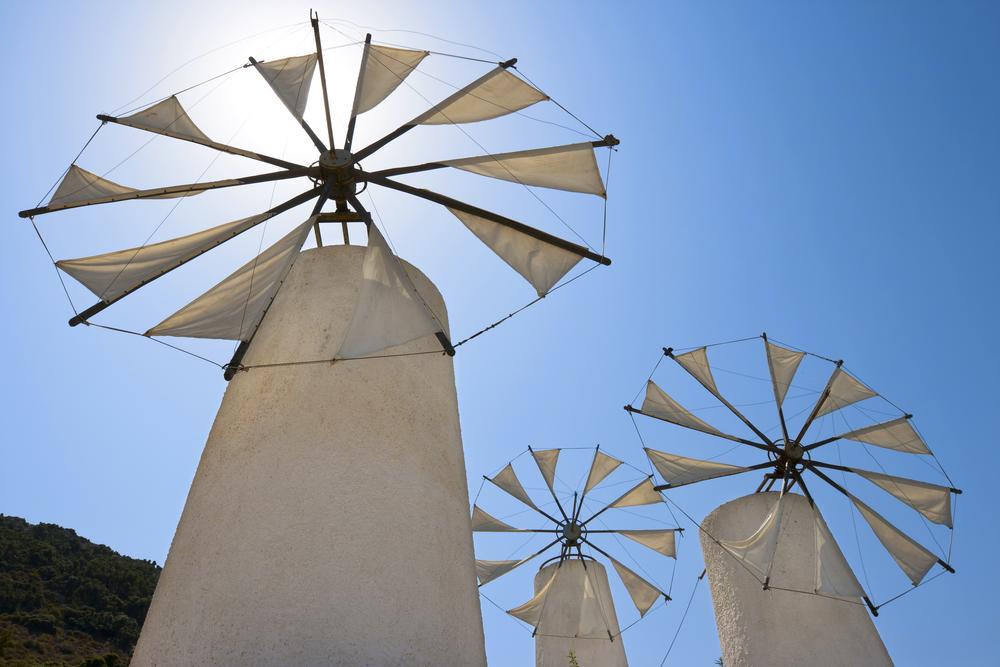 На острове Крит в Плато Лассити обнаружена древняя ветряная мельница