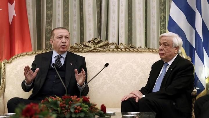 Παυλόπουλος και Ερντογάν λογομάχησαν μπροστά στις κάμερες
