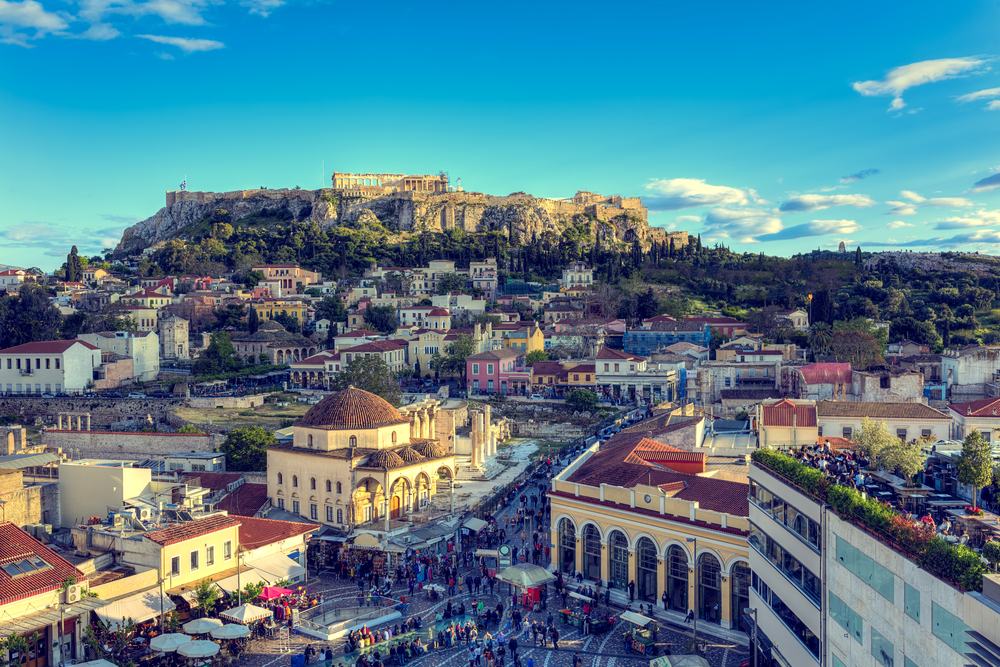 Карнавал в Афинах
