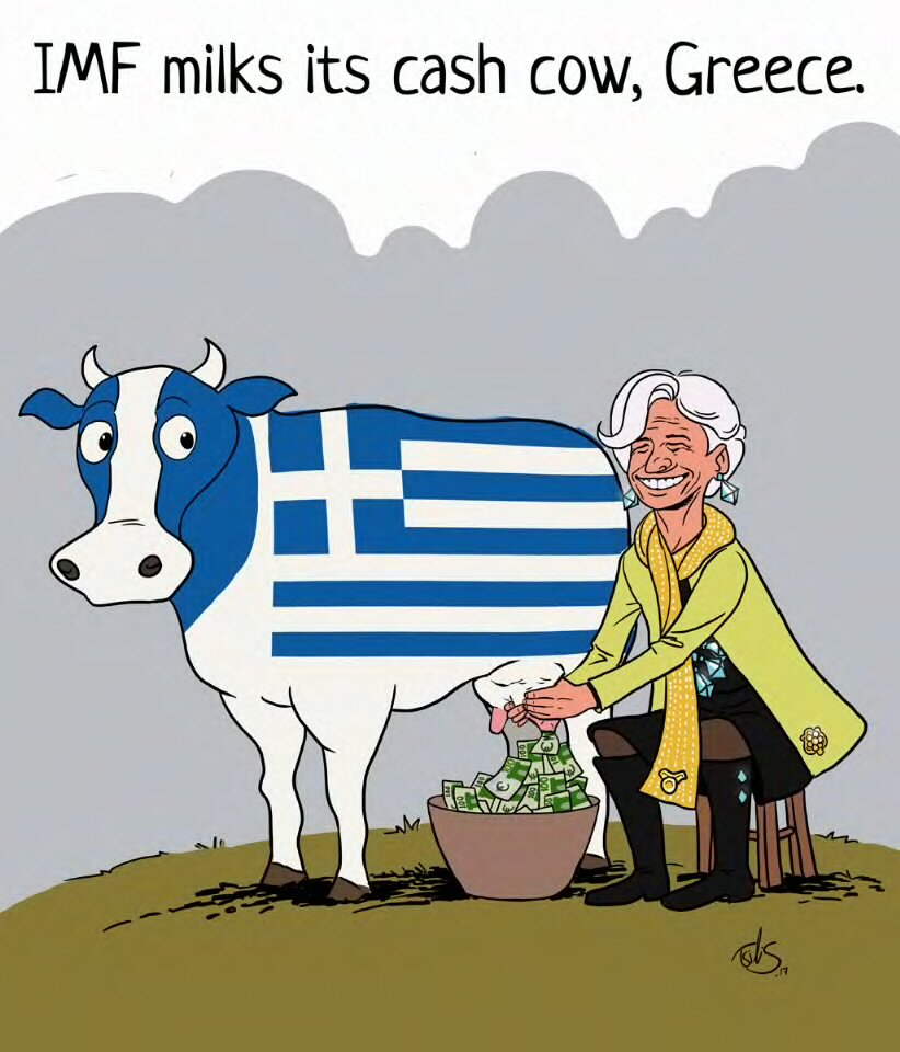 How the Greek Crisis is Profitable for the International Monetary Fund