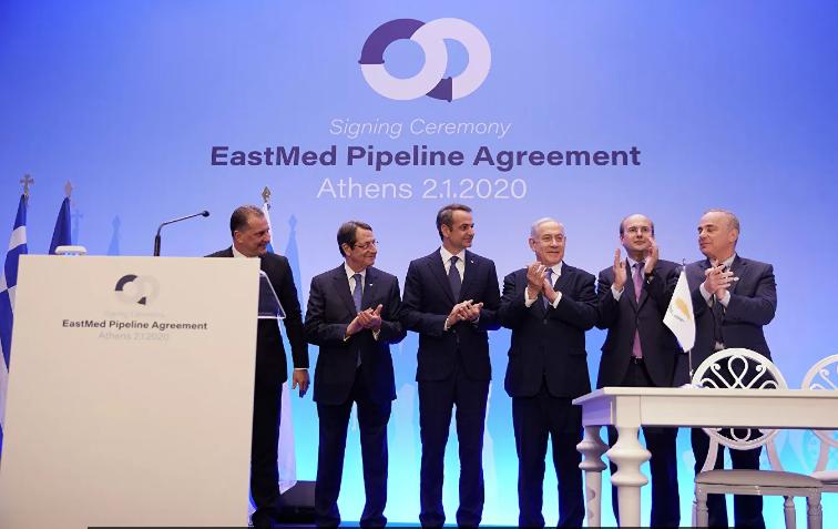 EastMed pipeline – энергетический союз Греции, Израиля и Кипра