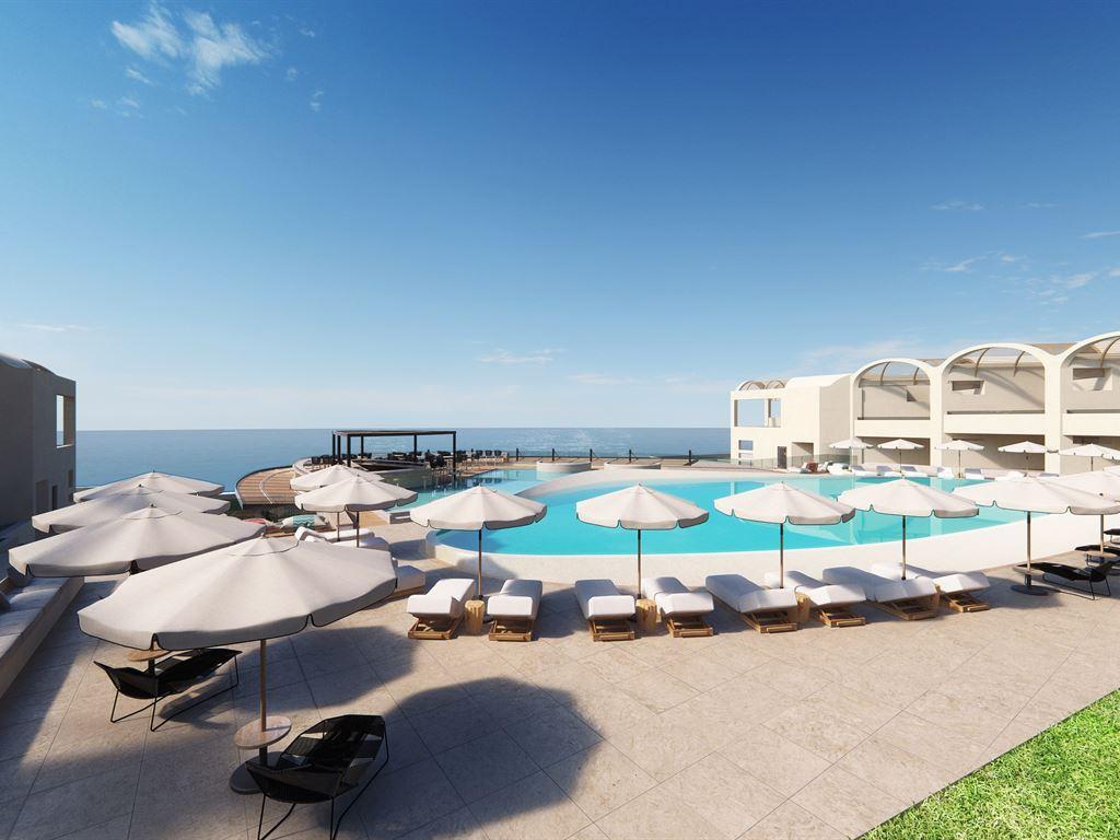 Новый отель на Крите